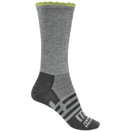 Dahlgren Petal Pusher Socks - Merino Wool, Crew (For Women)