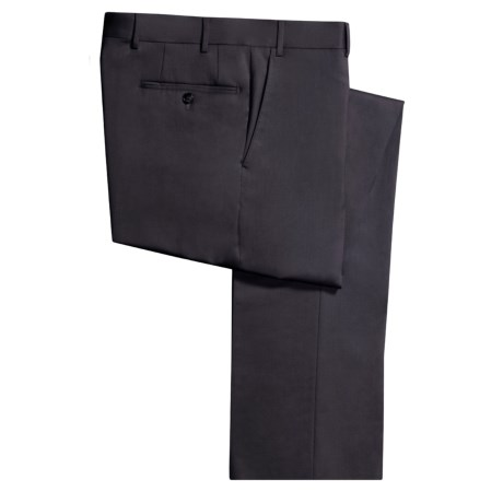 Corneliani Natural Stretch Dress Pants - Wool (For Men)