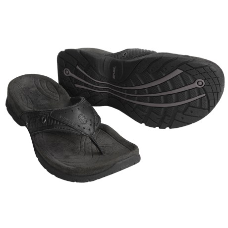 Teva Agate Leather Thong Sandals (For Men)