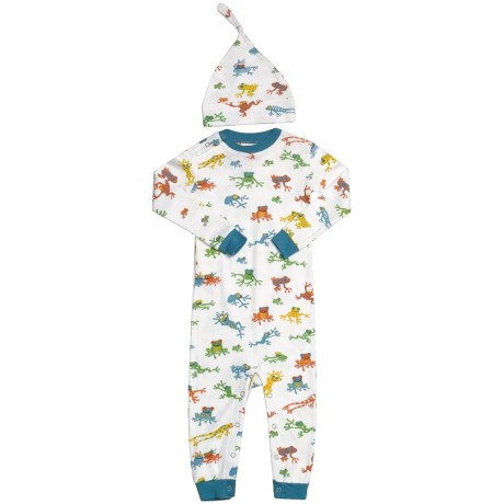 Hatley Printed Romper with Hat (For Infants)