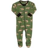 Hatley Printed Footie Pajamas - Long Sleeve (For Infants)