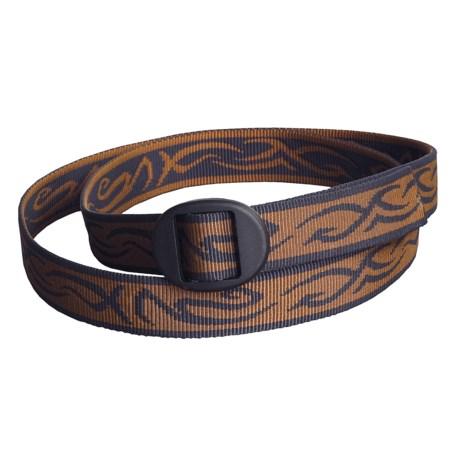 Bison Designs Web Belt - 25mm (For Men and Women)
