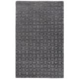 Momeni Metro Basket-Weave Wool Area Rug - 5x8'