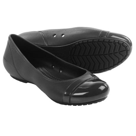 Crocs Cap Toe Flats (For Women)