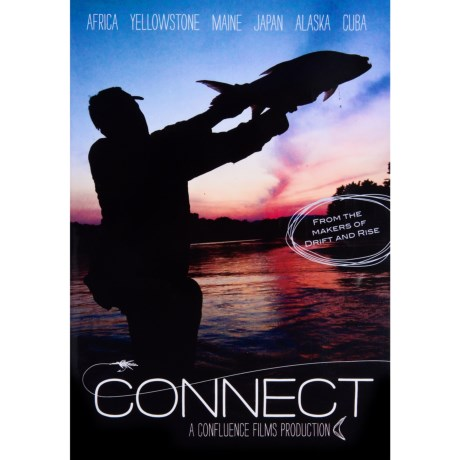 Confluence Films Connect Fly-Fishing DVD Movie