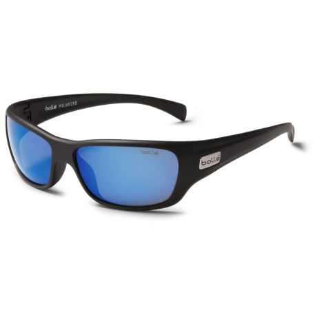 Bolle Crown Sunglasses - Polarized Mirrored Lenses