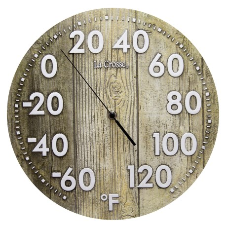 La Crosse Technology Indoor/Outdoor Thermometer - 12""