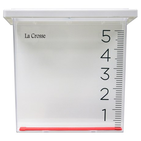 La Crosse Technology Waterfall Rain Gauge