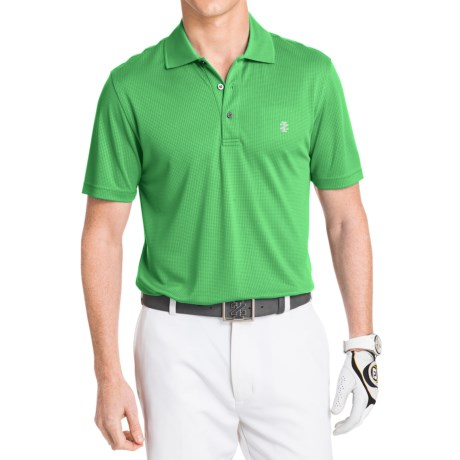 IZOD Champion Solid Grid Polo Shirt - UPF 20, Short Sleeve (For Men)