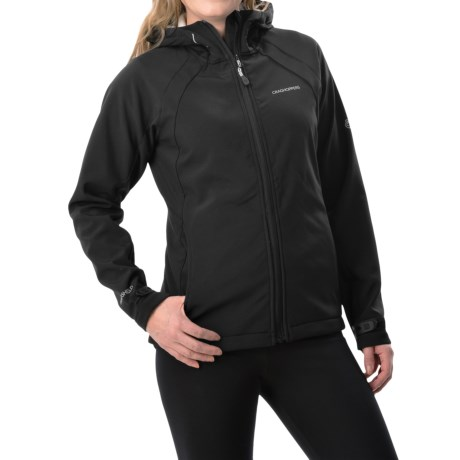 Craghoppers Lena Hooded Soft Shell Jacket (For Women)