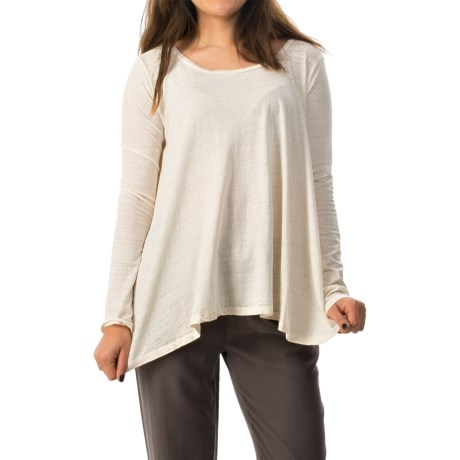 Threads 4 Thought Oni Oversized T-Shirt - Long Sleeve (For Women)