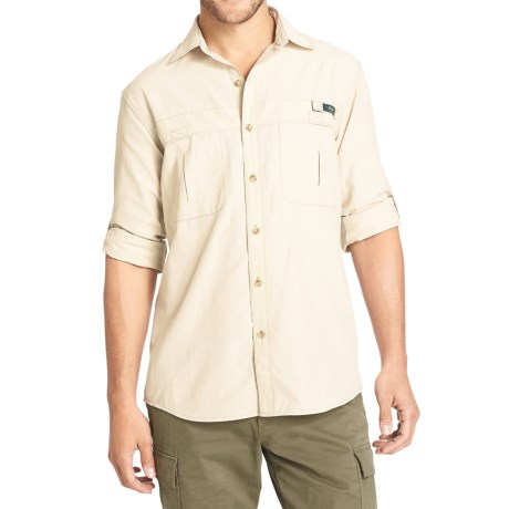 G.H. Bass & Co. Explorer Solid Shirt - Long Sleeve (For Men)