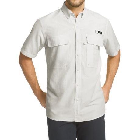 G.H. Bass & Co. Explorer Charter Solid Shirt - UPF 40, Short Sleeve (For Men)