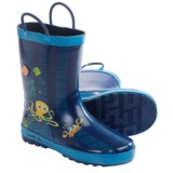 Kamik Octopus Rubber Rain Boots - Waterproof (For Little Kids)
