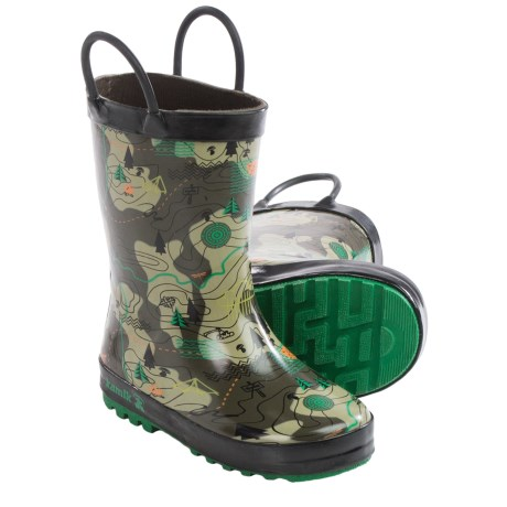 Kamik Explore Rubber Rain Boots - Waterproof (For Toddlers)