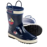 Kamik Ahoy Rubber Rain Boots - Waterproof (For Little Kids)