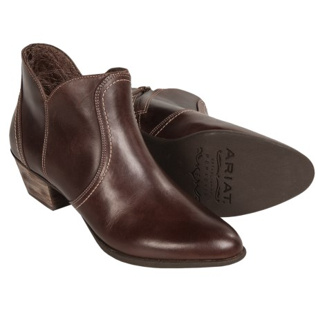 Ariat Astor Leather Ankle Boots (For Women)