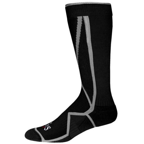 Hot Chillys Premier Mid Volume Ski Socks - Over the Calf (For Men)