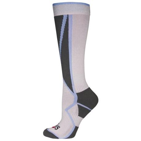 Hot Chillys Premier Low Volume Ski Socks - Over the Calf (For Women)