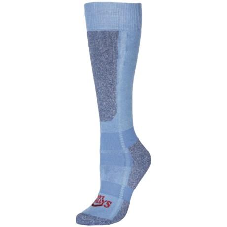 Hot Chillys Classic Mid Volume Ski Socks - Over the Calf (For Women)