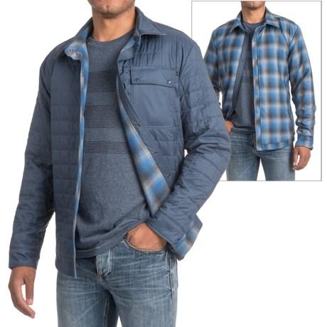 Icebreaker Helix Shirt Jacket - Reversible, Insulated (For Men)