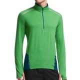Icebreaker Comet Shirt - Zip Neck, Merino Wool, Long Sleeve (For Men)