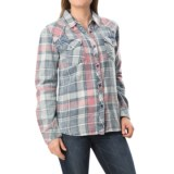 dylan American Plaid Shirt - Long Sleeve (For Women)