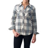 dylan Buffalo Plaid Shirt - Fully Lined, Long Sleeve (For Women)