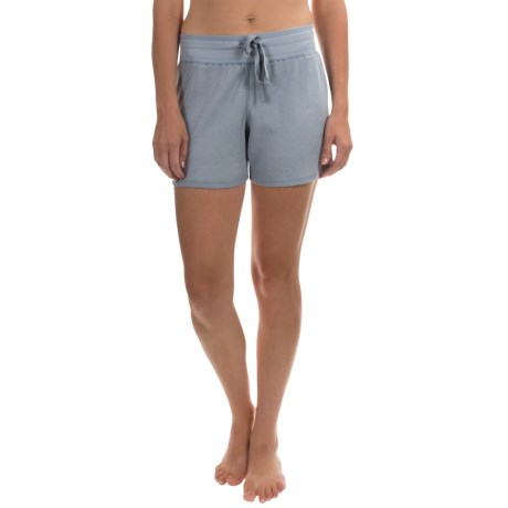 dylan Drawstring Lounge Shorts (For Women)
