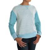 dylan Slubby French Terry Sweatshirt (For Women)