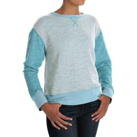 dylan Slubby French Terry Sweatshirt (For Women)