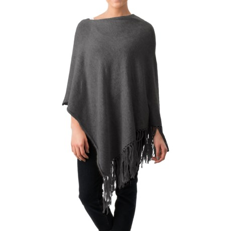 dylan Fringe Poncho (For Women)