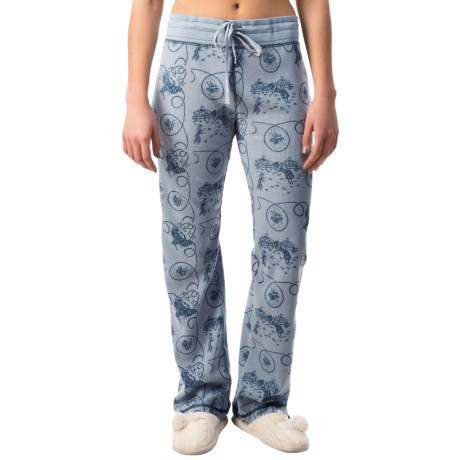 dylan Waffle-Knit Pajama Pants (For Women)