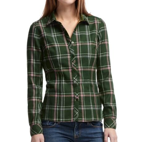 Icebreaker Laurel Plaid Shirt - UPF 30+, Merino Wool, Long Sleeve (For Women)
