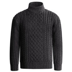 J.G. Glover & CO. Peregrine by J.G. Glover Aran Cable Sweater - Merino Wool (For Men)