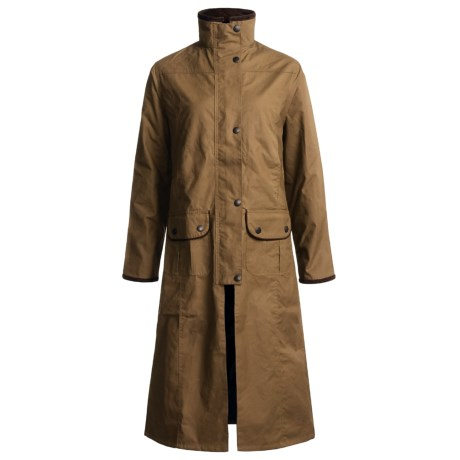 J.G. Glover Hampton Dry Waxed Cotton Coat (For Women)
