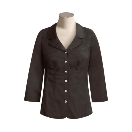 Bogner Cotton Melva Blouse - 3/4 Sleeve (For Women)