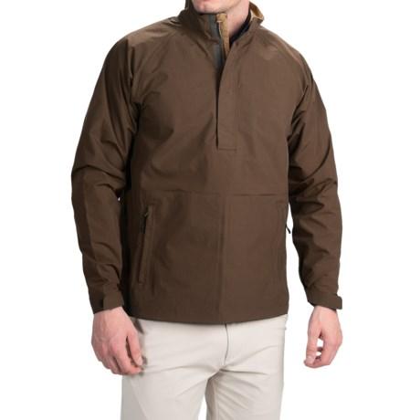 Wedge Golf Pullover Jacket - Waterproof, Zip Neck (For Men)
