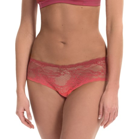 Cosabella Trenta Ombre Lace Hotpant Panties - Low-Rise Boy Shorts (For Women)