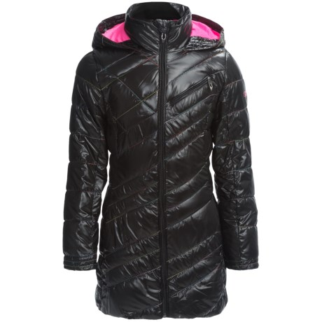 Spyder Long Jacket - Insulated (For Little and Big Girls)