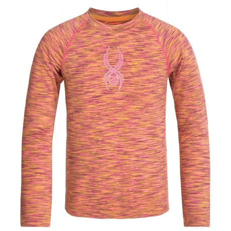 Spyder Space-Dye Shirt - Long Sleeve (For Little and Big Girls)
