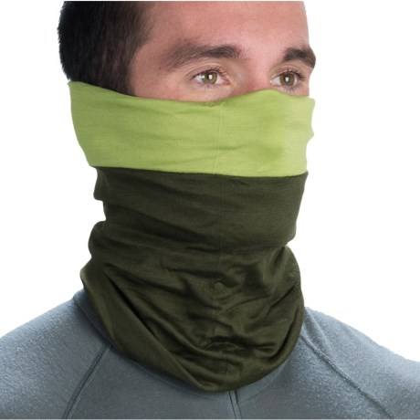 Buff Merino Wool Neck Gaiter - Reversible (For Men and Women)