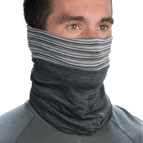 Buff Merino Wool Neck Gaiter - Reversible (For Men and Women)