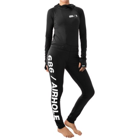 686 Airhole Thermal Base Layer One-Piece - UPF 30+, Long Sleeve (For Women)