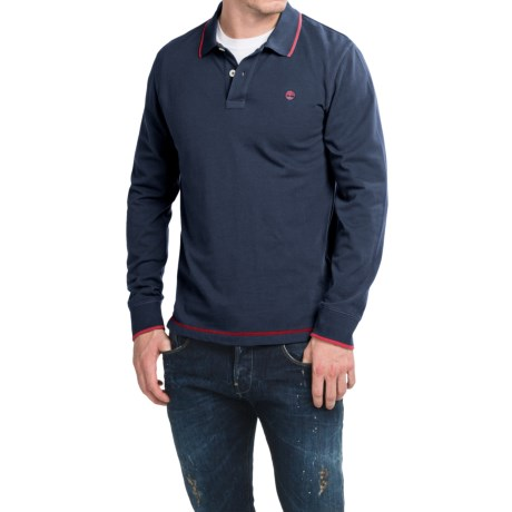Timberland Millers River Polo Shirt - Long Sleeve (For Men)