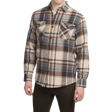 Dakota Grizzly York Herringbone Flannel Shirt - Long Sleeve (For Men)