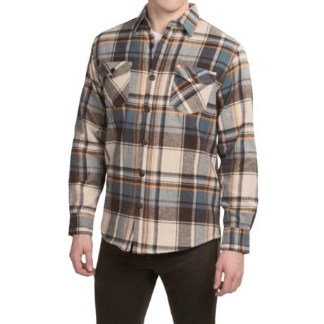Dakota Grizzly York Herringbone Flannel Shirt - Long Sleeve (For Men)