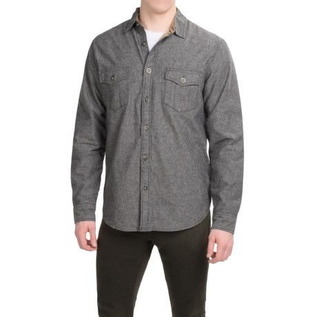 Dakota Grizzly Hendrix Flannel-Lined Shirt - Long Sleeve (For Men)