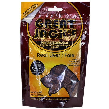Great Jack's Liver Training Treats - 7 oz.