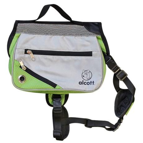 alcott Explorer Adventure Backpack Dog Pack - Medium